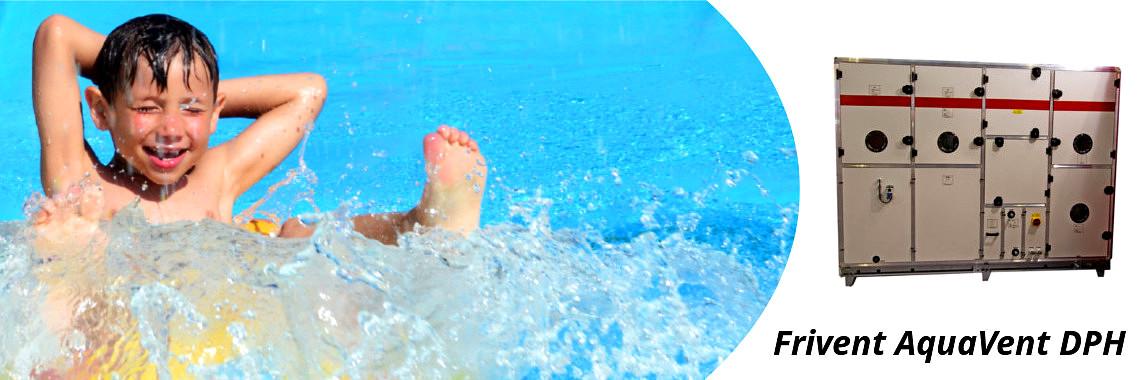 Установка для осушения бассейнов Frivent AquaVent DPH